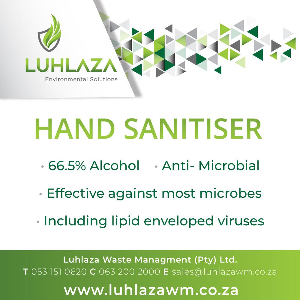 Hand Sanitiser Pop Up2020